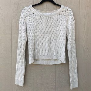 [Parisian asos] Studded Long Sleeve Knit Top Small